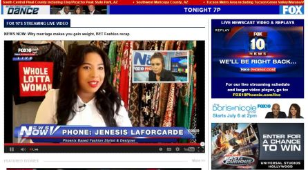 Jenesis on Fox 10
